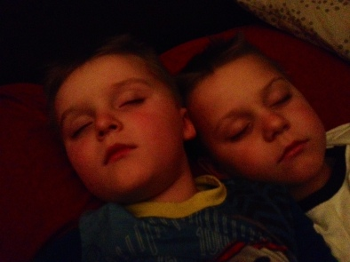 Simple Pleasures... Sleeping Boys :)